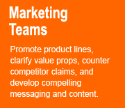 How We Help Marketing Teams